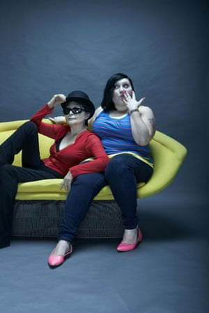 OMM portraits: OMM portrait of Yoko Ono and Beth Ditto by Neil Wilder