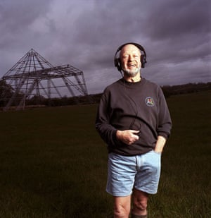 OMM portraits: OMM portrait of Michael Eavis by Hainsley Brown