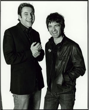 OMM portraits: OMM portrait David Walliams and Noel Gallagher, by David Bailey