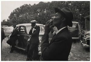 Robert Frank Americans: Funeral—St. Helena, South Carolina, 1955 from Robert Frank's The Americans