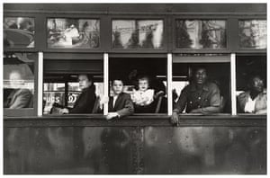 Robert Frank Americans: Trolley—New Orleans, 1955 by Robert Frank, from The Americans