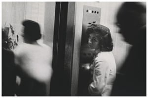 Robert Frank Americans: Elevator—Miami Beach, 1955 by Robert Frank, from The Americans