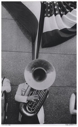 Robert Frank Americans: Political rally—Chicago, 1956 by Robert Frank, from The Americans