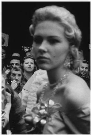 Robert Frank Americans: Movie premiere—Hollywood, 1955 by Robert Frank, from The Americans