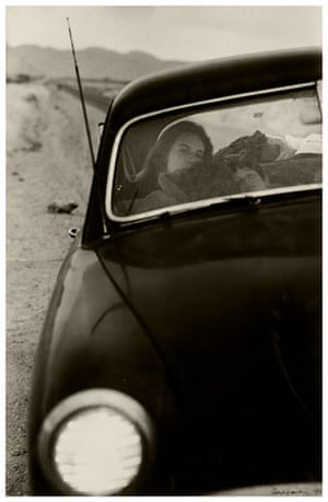 Robert Frank Americans: U.S. 90, en route to Del Rio, Texas, 1955. Robert Frank from The Americans