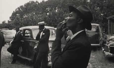 Funeral—St. Helena, South Carolina, 1955 from Robert Frank's The Americans