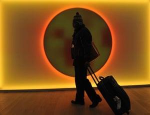 Copenhagen: the result: A man leaves the Bella Center in Copenhagen on December 19th