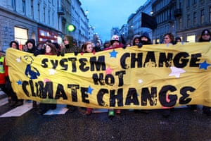 Copenhagen: the result: Environmental Activists Protest at the UN Climate Change Conference