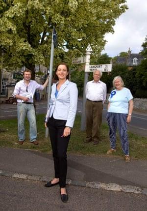 Tory new women: Annunziata Rees-Mogg and Tory campaigners