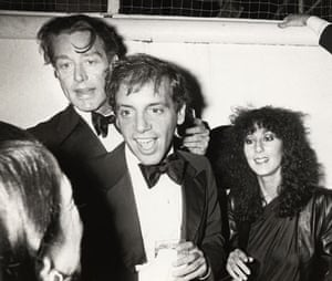Ron Galella Disco NYC: Diana Vreeland, Halston, Steve Rubell and Cher at a launch for 'Opium'