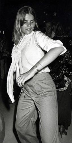 Ron Galella Disco NYC: Mariel Hemingway at the Xenon opening