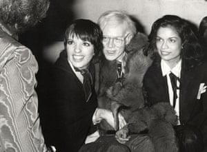 Ron Galella Disco NYC: Liza Minnelli, Andy Warhol, and Bianca Jagger at Elaine's