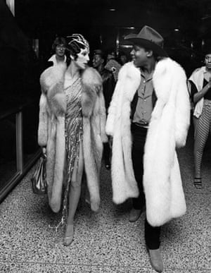Ron Galella Disco NYC: Cher and Sylvester attend the 1978 Disco Convention Banquet