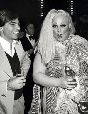 Ron Galella Disco NYC: Lady Divine at Halston's party for Bianca Jagger