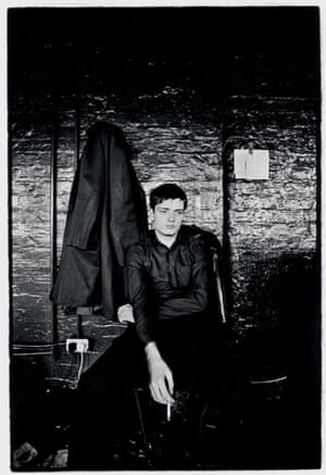 Kevin Cummins' Manchester: Ian Curtis of Joy Division in 1979, by Kevin Cummins