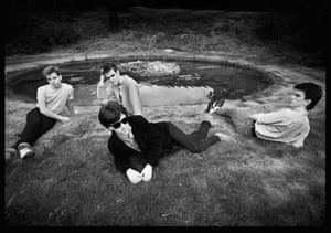 Kevin Cummins' Manchester: The Smiths Dunham Massey, Cheshire in 1983, by Kevin Cummins