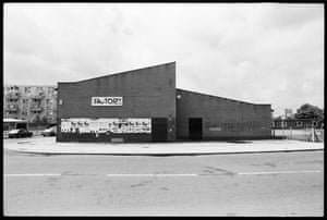 Kevin Cummins' Manchester: The Factory Club in Manchester in 1979, by Kevin Cummins