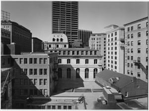 New Topographics: Buildings On Tremont Street, Boston, 1975 by Nicholas Nixon