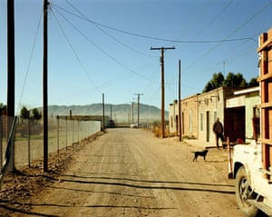 New Topographics: Alley, Presidio, Texas by Stephen Shore