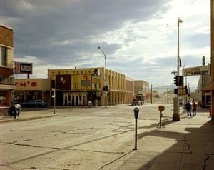 New Topographics: 2nd Street East And South Main Street, Kalispell, Montana by Stephen Shore
