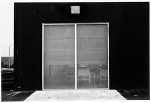 New Topographics: East Wall, Mcgaw Laboratories, 1821 by Lewis Baltz