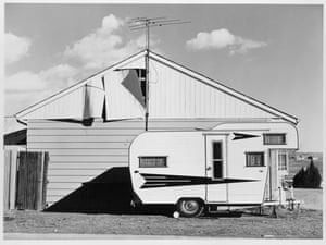 New Topographics: Tract House, Westminster, Colorado, 1974 by Robert Adams