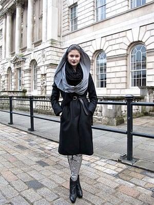 Face hunter: Face hunter portrait: Lina, 20, model