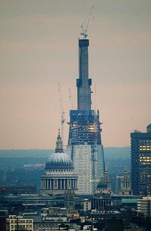 The Shard in progress: The Shard skyscraper