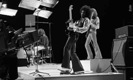 Jimi Hendrix Experience 'Happening For Lulu' TV Show, using wah-wah pedal
