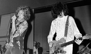 Robert Plant and Jimmy Page - The New Yardbirds