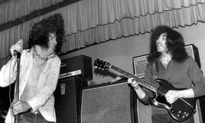 Ozzy Osbourne & Tony Iommi performing live onstage as 'Earth'.