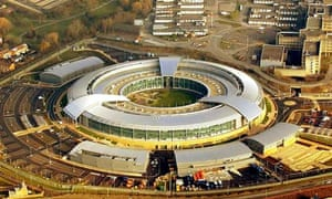 Aerial view of GCHQ, Cheltenham