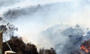 grass fire warning, news
