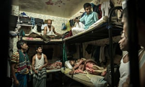 Migrant workers in Abu Dhabi