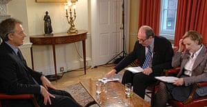 Tony Blair talks to Will Hutton and Anne McElvoy