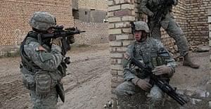Troops under sniper fire in Iraq