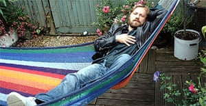 Jim Threapleton at his home in London, August 2007