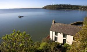 Dylan Thomas' home
