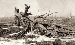 German soliders after the battle of Verdun