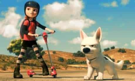 bolt pixar animated film