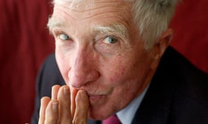 John Updike appears at the Hay Festival