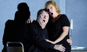 Nina Stemme as Isolde and Ben Heppner as Tristan, ROH