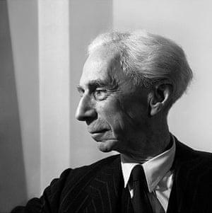 Jane Bown retrospective: Jane Bown's portrait of Bertrand Russell