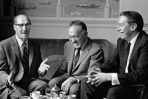 Jane Bown retrospective: Groucho Marx, SJ Perelman and Kenneth Tynan