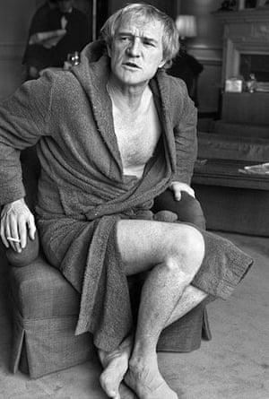 Jane Bown retrospective: Richard Harris in 1977