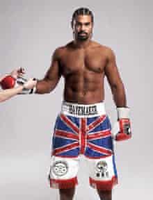 boxer David Haye