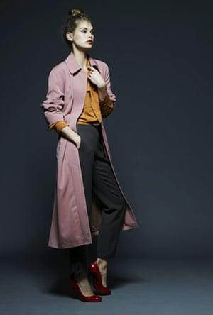 Key fashion trends: Model wearing Dries Van Noten