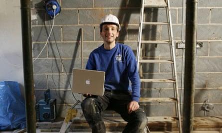 Builder Russ Flaherty