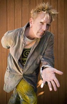 John Lydon in Los Angeles