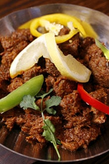 dry meat curry